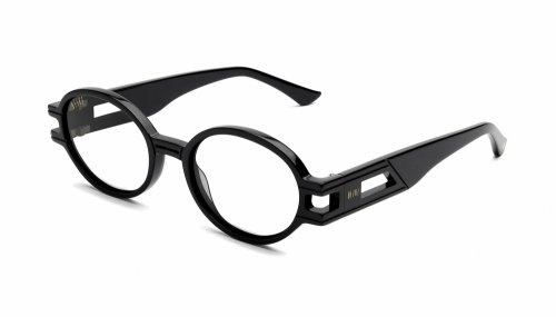 <img class='new_mark_img1' src='https://img.shop-pro.jp/img/new/icons5.gif' style='border:none;display:inline;margin:0px;padding:0px;width:auto;' />9five ST. JAMES SE Black Clear Lens Glasses セントジェームス エスイー / ブラック / クリアレンズグラス / ナインファイブ