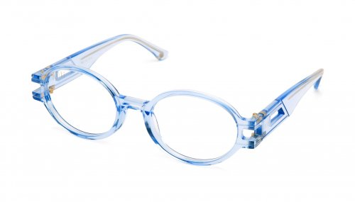 <img class='new_mark_img1' src='https://img.shop-pro.jp/img/new/icons5.gif' style='border:none;display:inline;margin:0px;padding:0px;width:auto;' />9five ST. JAMES SE Crystal Blue Clear Lens Glasses セントジェームス エスイー / クリスタルブルー / クリアレンズグラス / ナインファイブ