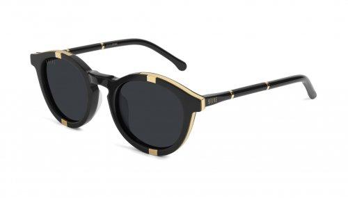 <img class='new_mark_img1' src='https://img.shop-pro.jp/img/new/icons5.gif' style='border:none;display:inline;margin:0px;padding:0px;width:auto;' />9five Groove Black & 24K Gold Sunglasses グルーブ / ブラック&24Kゴールド / サングラス / ナインファイブ