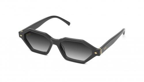 <img class='new_mark_img1' src='https://img.shop-pro.jp/img/new/icons5.gif' style='border:none;display:inline;margin:0px;padding:0px;width:auto;' />9five DOCKS Black & 24k Gold Gradation Sunglasses ドックス / ブラック&24Kゴールド / グラデーションレンズ / ナインファイブ