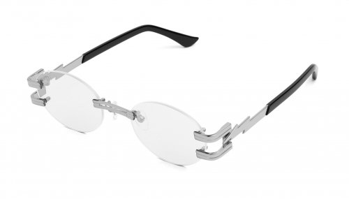 <img class='new_mark_img1' src='https://img.shop-pro.jp/img/new/icons5.gif' style='border:none;display:inline;margin:0px;padding:0px;width:auto;' />9five ST.JAMES BOLT LITE Platinum Clear Lens Glasses セントジェームスボルトライト / プラチナ / クリアレンズ / ナインファイブ