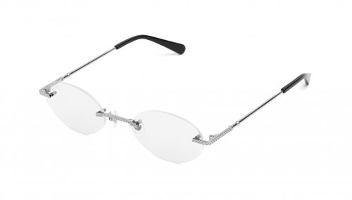 <img class='new_mark_img1' src='https://img.shop-pro.jp/img/new/icons5.gif' style='border:none;display:inline;margin:0px;padding:0px;width:auto;' />9five 40 LITE Platinum Clear Lens Glasses フォーティーライト / プラチナ / クリアレンズ / ナインファイブ