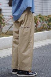 RICE NINE TEN WORKER'S WIDE PANTS【Beige】