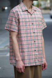 NOiSE CRAFT s/s パチモノチェックシャツ