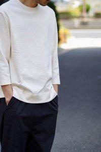 LAMOND【ラモンド】 BASQUE 7部袖T-SHIRT 【WHITE】