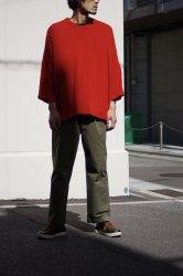 RICCARDO METHA【リカルドメッサ】 DRAGON TWILL 1TUCK WIDE PANTS【OLIVE】