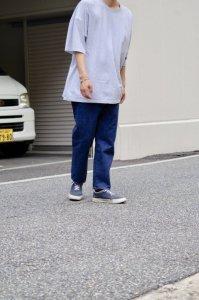 LAMOND【ラモンド】 SERUBITCH TAPERED DENIM【BLUE BIO WASH】
