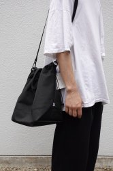 This is… Cordura Drawstring Shoulder Bag【Black】