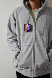 CAMBER【キャンバー】 CHILL BUSTER THERMAL LINED ZIPPER HOODED【GRAY】