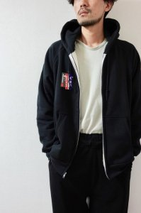 CAMBER【キャンバー】 CHILL BUSTER THERMAL LINED ZIPPER HOODED【BLACK】