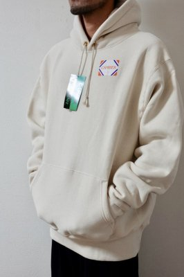 CAMBER【キャンバー】 CROSS KNIT PULLOVER HOODED【NATURAL】