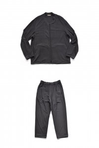 【セットアップ】LAMOND【ラモンド】 LOUNGE SUEDE BLOUSON &PANTS【CHARCOAL】