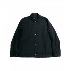 FIRMUM【フィルマム】9.5oz 硫化スラブデニムジャケット【BLACK】