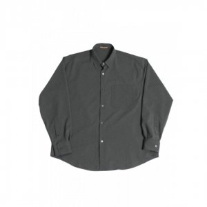 LAMOND【ラモンド】 BOLD SHARI SHIRT JACKET【GRAY】