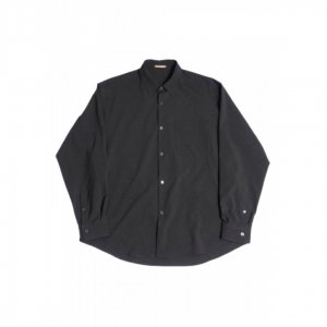 LAMOND【ラモンド】 BOLD SHARI SHIRT JACKET【CHARCOAL GRAY】