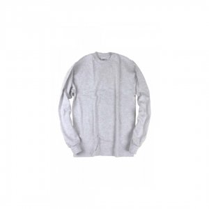 CAMBER【キャンバー】 8oz Long Sleeve T-shirts No pocket【GREY】