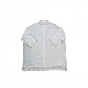 NO CONTROL AIR【ノーコントロールエアー】 リヨセルカールマイヤーオーバーサイズs/sシャツ【OFF WHITE】