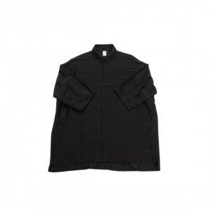 NO CONTROL AIR【ノーコントロールエアー】 リヨセルカールマイヤーオーバーサイズs/sシャツ【BLACK】
