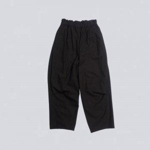 FIRMUM【フィルマム】強撚コットンヘヴィーカルゼシンタックパンツ【BLACK】