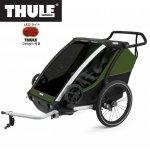 チャイルドトレーラー  【即納】チャリオット・キャブ<Thule Chariot Cab2> チャイルドトレーラー 自転車用ベビーカー サイクルトレーラー 2人乗り 年子 双子 7歳 後ろ乗せ 子供 2人 丈夫 雨