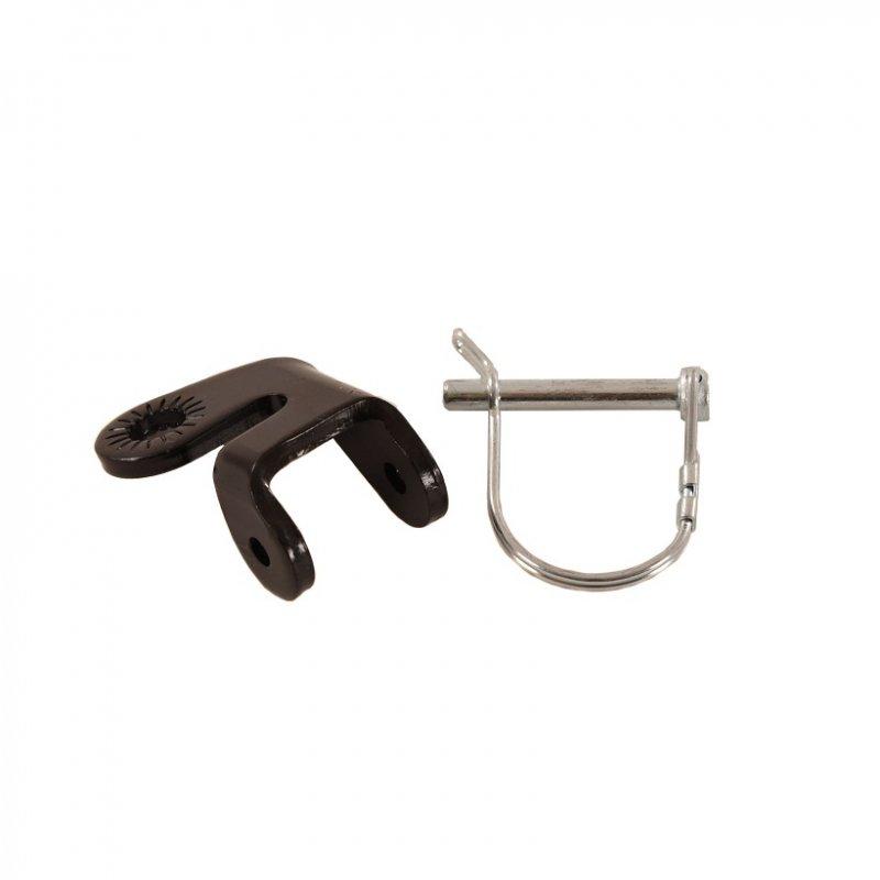 【即納】ワイク・スティール・ヒッチ<WIKE Steel Hitch>ヒッチ金具とDピンのセット商品。ワイクらしい嬉しい仕様です。