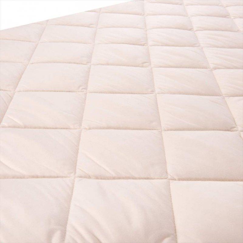【即納】ハウク・ベッドミー<Hauck Bed Me>マットレスプロテクターシート 適合:ハウク内寸120 x 60 cm のモデル【画像2】