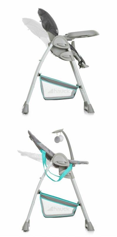【即納】ドイツの名門ハウク・シッティン・リラックス<HAUCK Sit'n Relax>多機能ハイローチェア 新生児から体重15 kg シート2モード カラー:ハーツ【画像4】