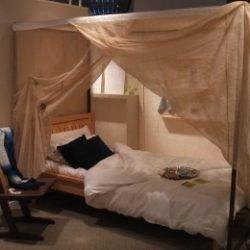 ヘンプ 蚊帳