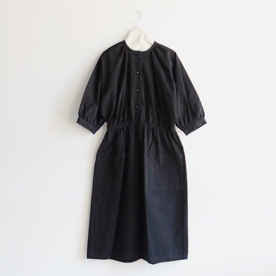 Atelier d'antan | ギャザーワンピース〈 Meurent 〉Black | A232161TD224