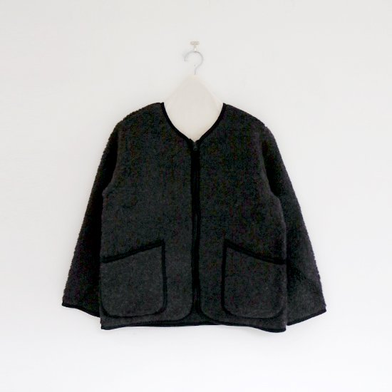 Cold Breaker | ウールフリースジャケット Black | D104172TJ003