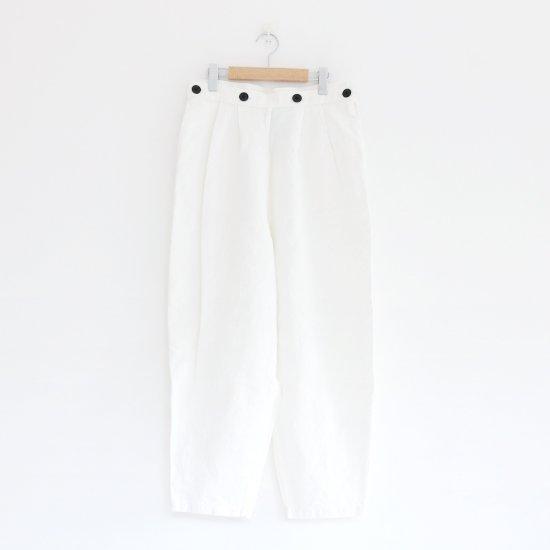 Atelier d'antan | カナパパンツ〈 Dermit 〉White | A232181PP313