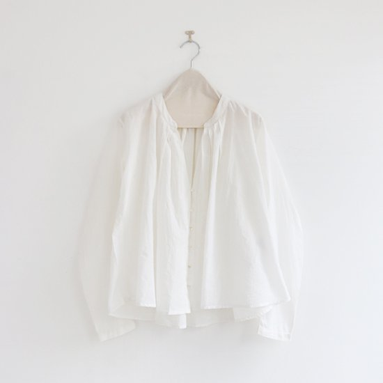 Khadi and Co. | ライトカディブラウス〈 SARA 〉White | D012181TS212