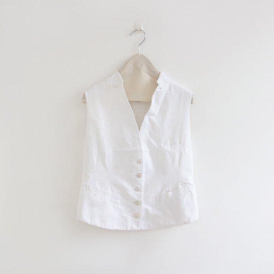 Khadi and Co. | 4プライカディベスト〈 OKLA 〉White | D012181TJ228