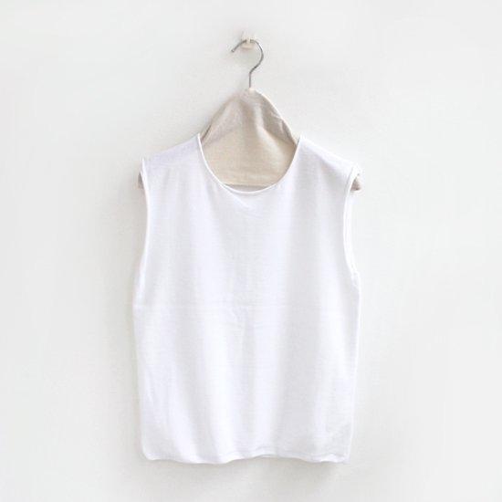 Yuri Park Capo Completo | 15Gスリーブレスニット〈 Sabah 〉White | D010201TK239