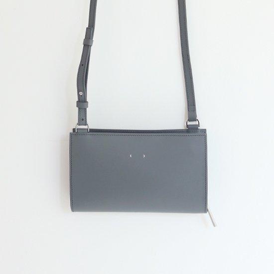 PB0110 | レザーポシェット Grey | D112191BB001