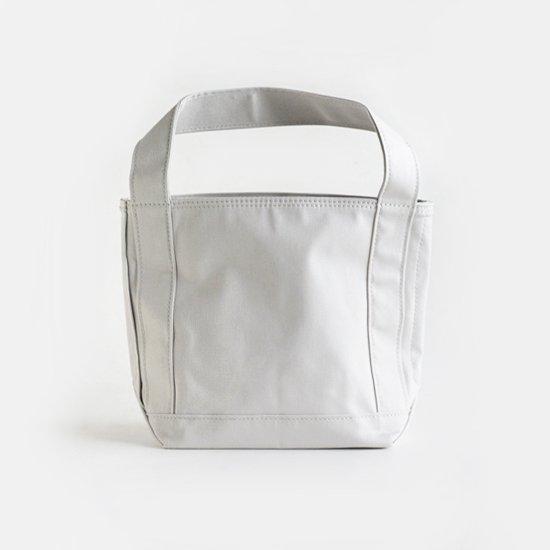 Tembea×haus | ショートジップトート Canvas11 Light Grey | F021191BB290