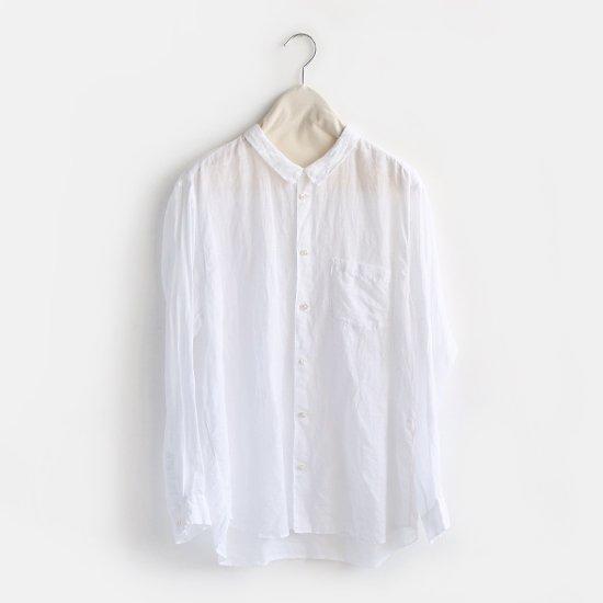 ゴーシュ | リネンコットンシャツ White | F019191TS355
