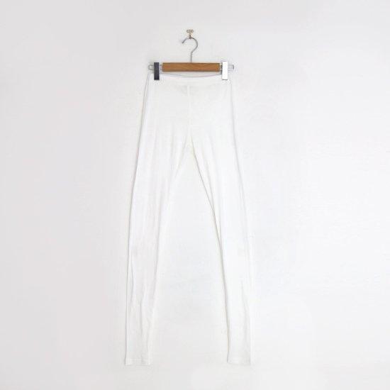 ゴーシュ | スーピマカシミアフライスレギンス White | F019202FS430