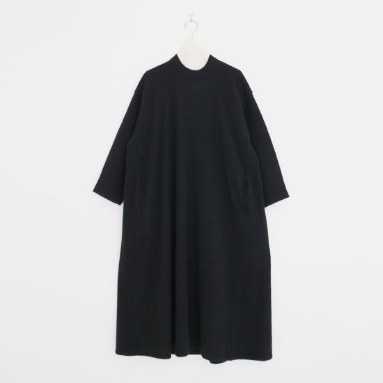 Atelier d'antan | ニットワンピース〈 Herge 〉Black | A232192TK395