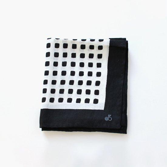 Atelier d'antan | シルクスカーフ〈 Rothko 〉Black B Pattern | A232182FM350