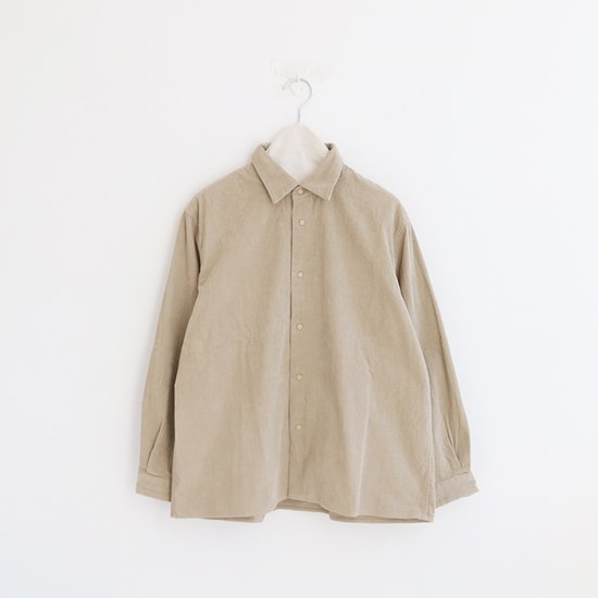 Yaeca | コンフォートコーデュロイシャツ Beige | F052192TS107
