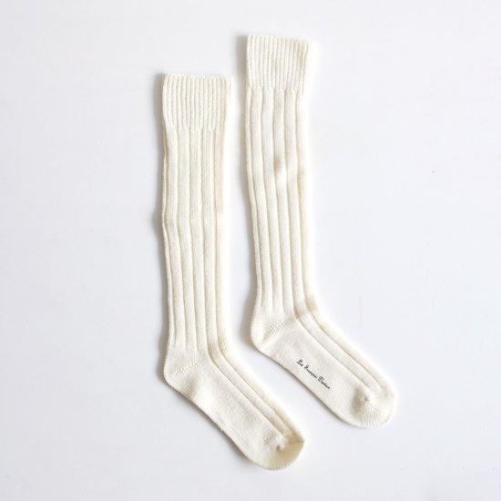 Atelier d'antan | ウールソックス〈 Sand 〉White | A23212FS209