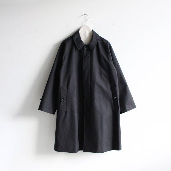 Charpentier de Vaisseau   ステンカラーコート〈 Tony 〉Black   C003192TC341