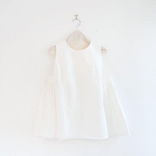 Atelier d'antan | スリーブレスブラウス〈 Arbus 〉White | A232201TS409