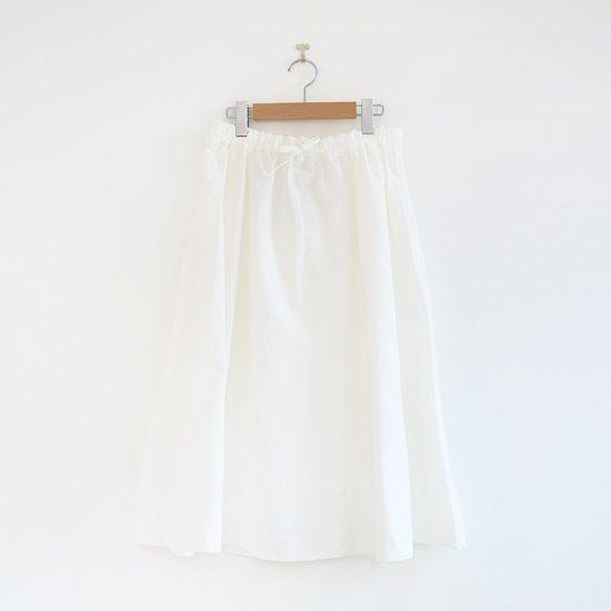 Atelier d'antan | サーキュラースカート〈 Brunel 〉White | A232201PS410