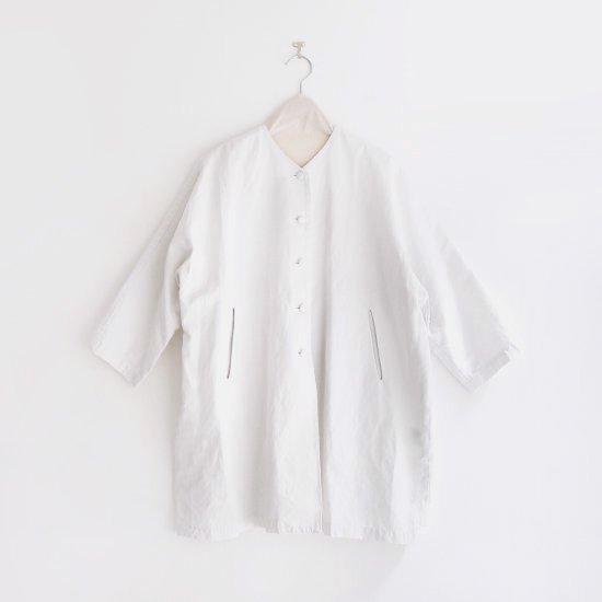 Atelier d'antan | ノーカラーコート〈 Verlaine 〉White | A232201TC425