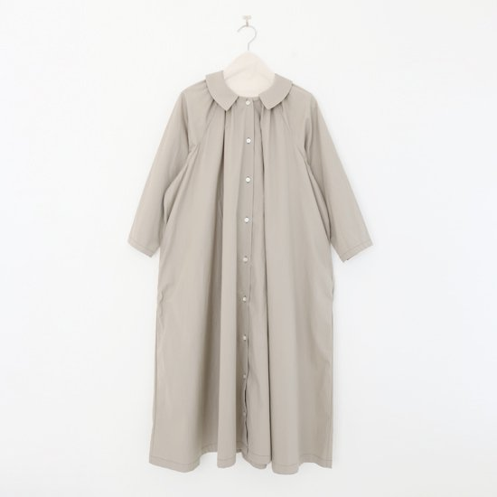 Atelier d'antan | ギャザードレス〈 Aimee 〉Light Grey | A232171TD267