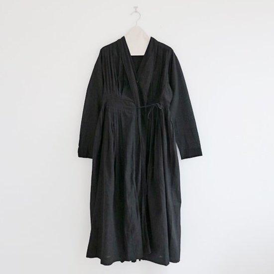 Khadi and Co. | カシュクールドレス〈 CALLAS 〉Black | D012191TD278