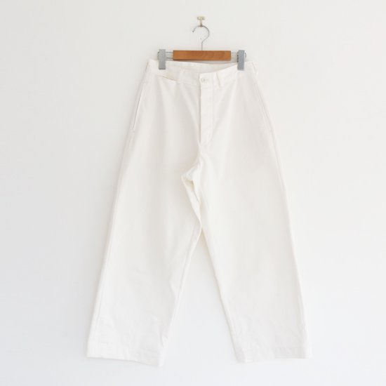 Charpentier de Vaisseau | チノパン〈 Brice 〉White | C003201PP374