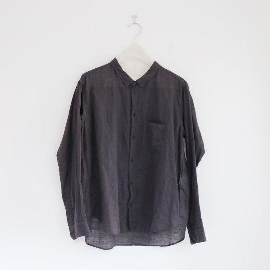 ゴーシュ | リネンコットンシャツ Dark Grey | F019201TS407